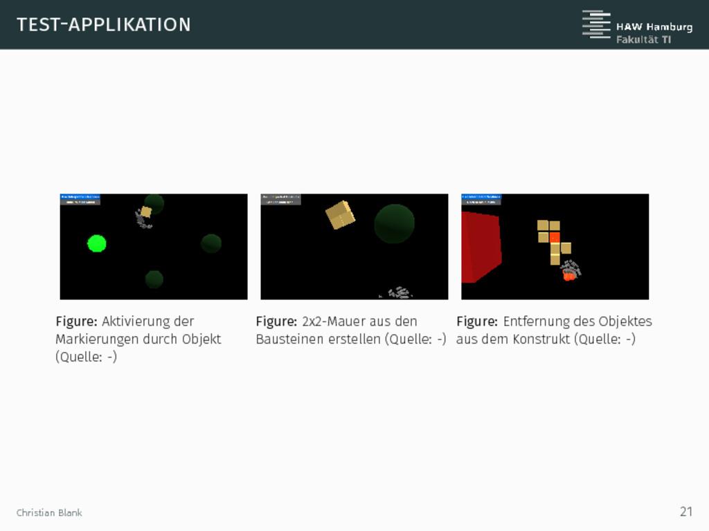 test-applikation Figure: Aktivierung der Markie...