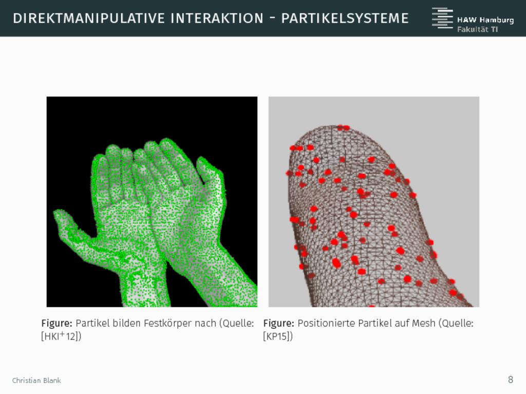 direktmanipulative interaktion - partikelsystem...