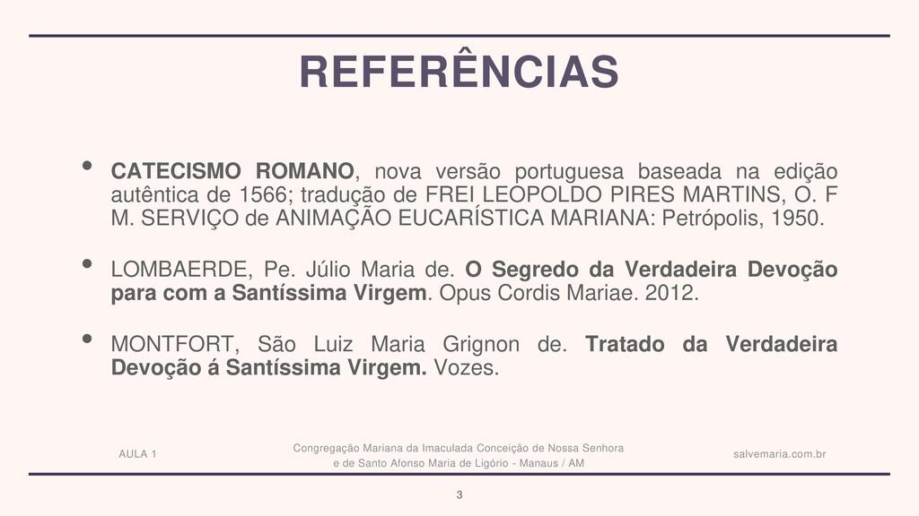 • CATECISMO ROMANO, nova versão portuguesa base...