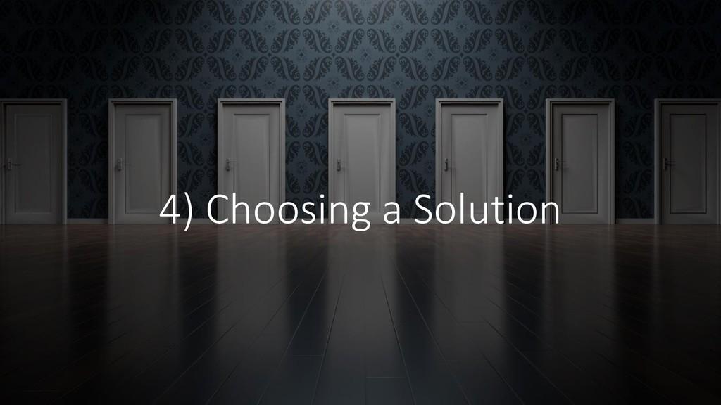@ManfredSteyer 4) Choosing a Solution