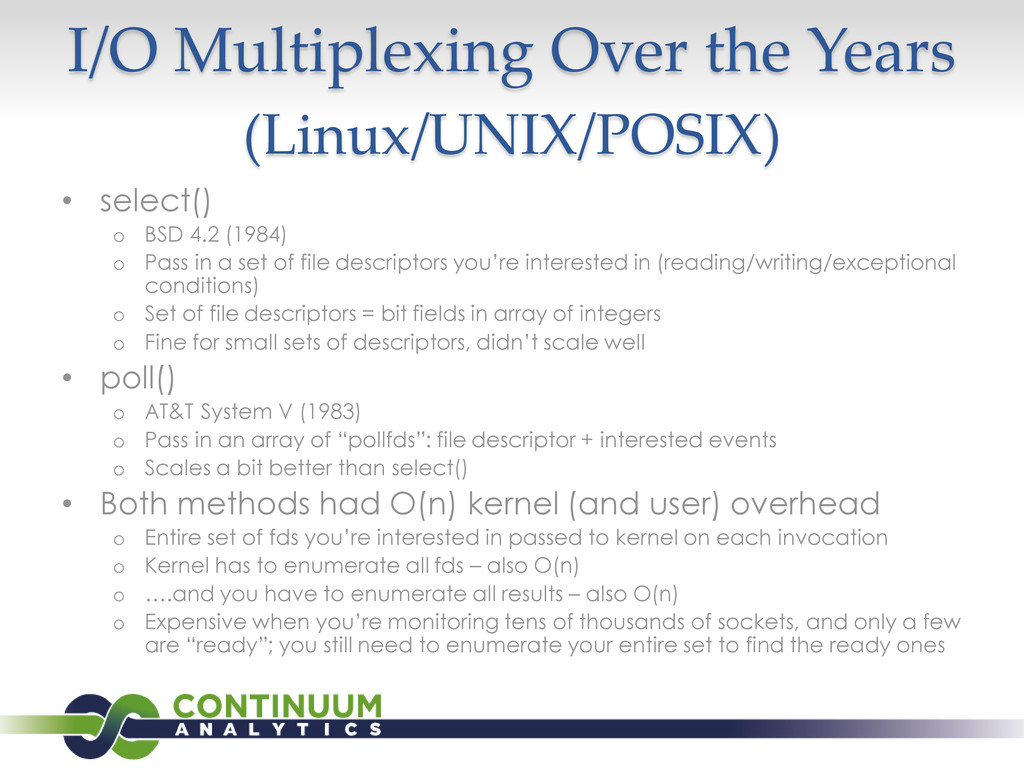 I/O Multiplexing Over the Years (Linux/UNIX/POS...
