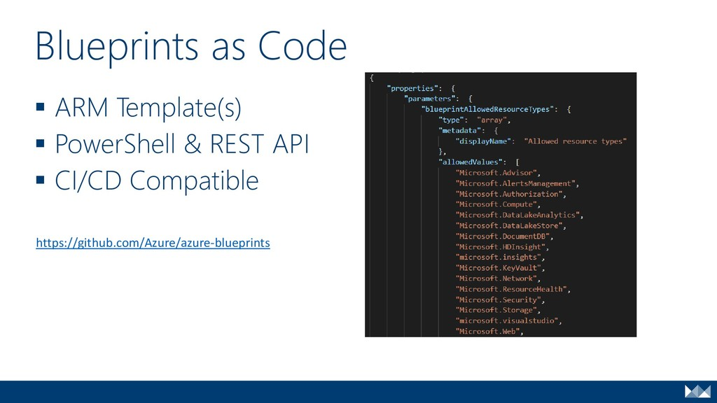 ▪ ARM Template(s) ▪ PowerShell & REST API ▪ CI/...