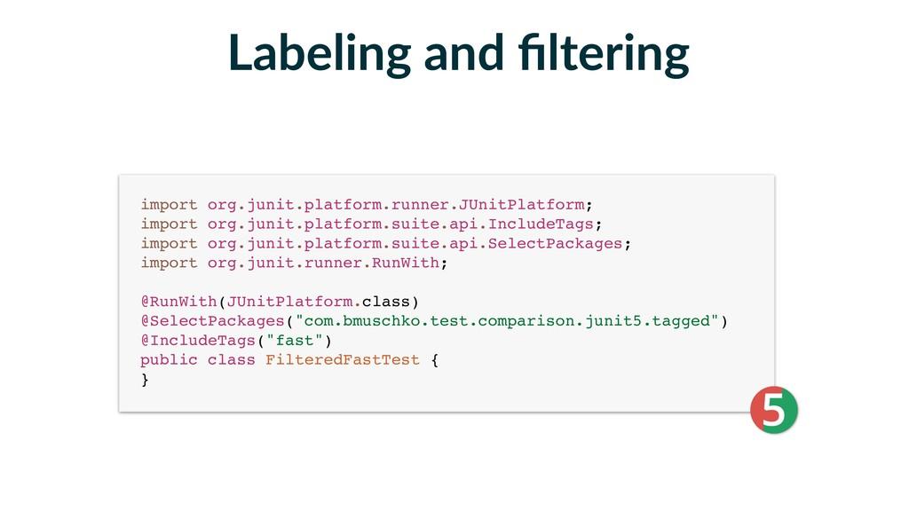 import org.junit.platform.runner.JUnitPlatform;...