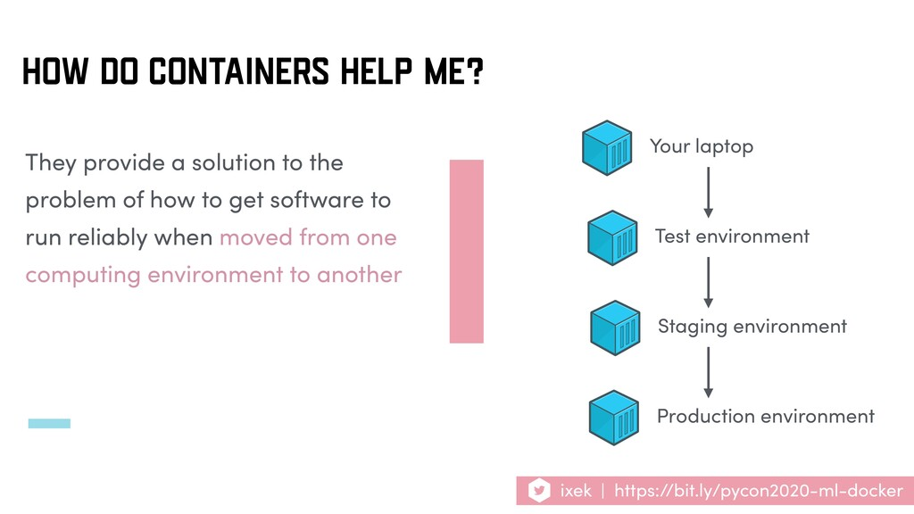 HOW DO CONTAINERS HELP ME? They provide a solut...