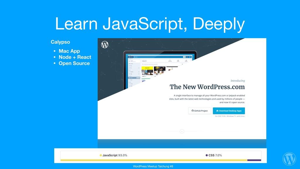 Learn JavaScript, Deeply Calypso • Mac App • No...