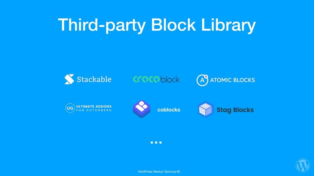 Third-party Block Library coblocks … WordPress ...