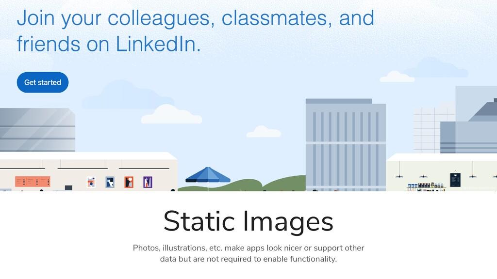 Static Images Photos, illustrations, etc. make ...