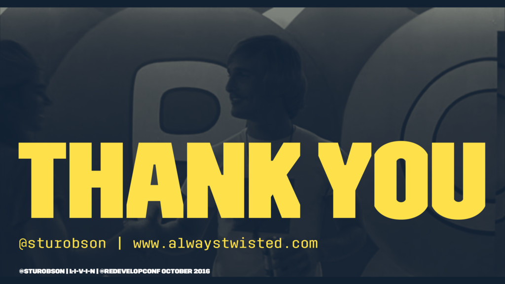 thank you @sturobson | www.alwaystwisted.com @s...
