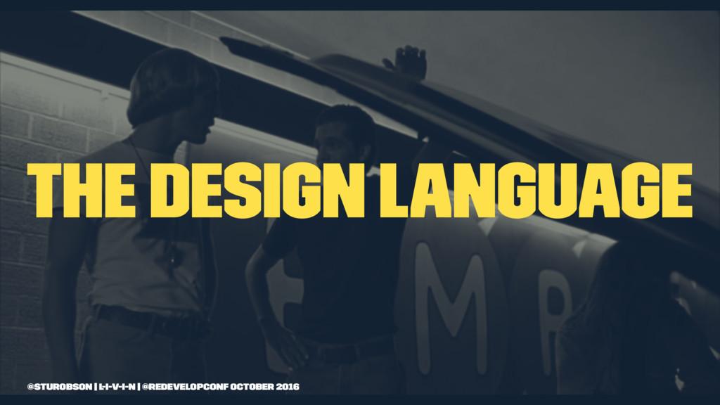 the design language @sturobson | l-i-v-i-n | @r...