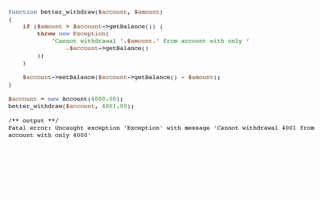 function better_withdraw($account, $amount) { i...