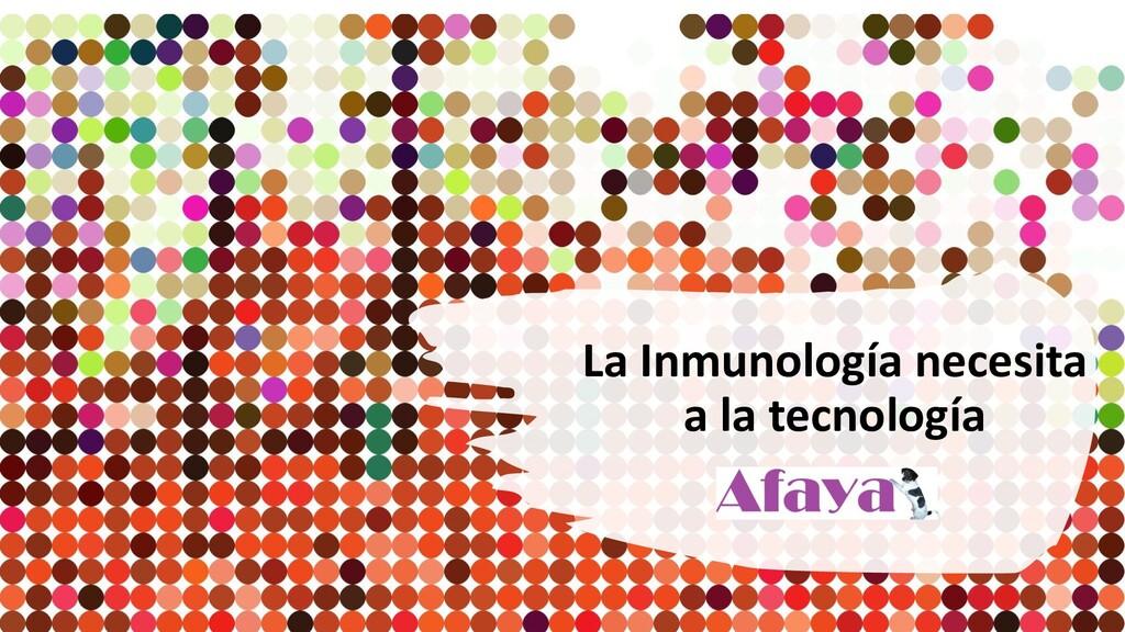 La Inmunología necesita a la tecnología