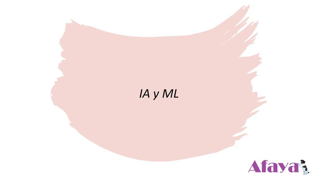 IA y ML