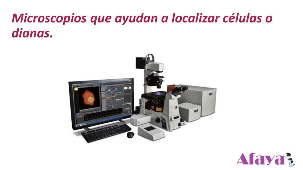 Microscopios que ayudan a localizar células o d...