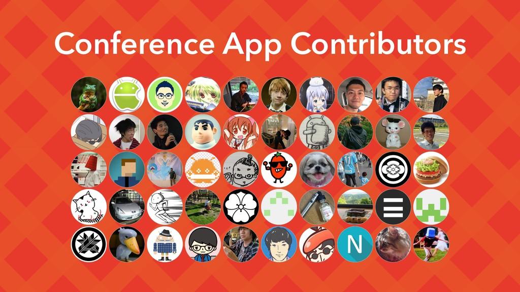 Conference App Contributors