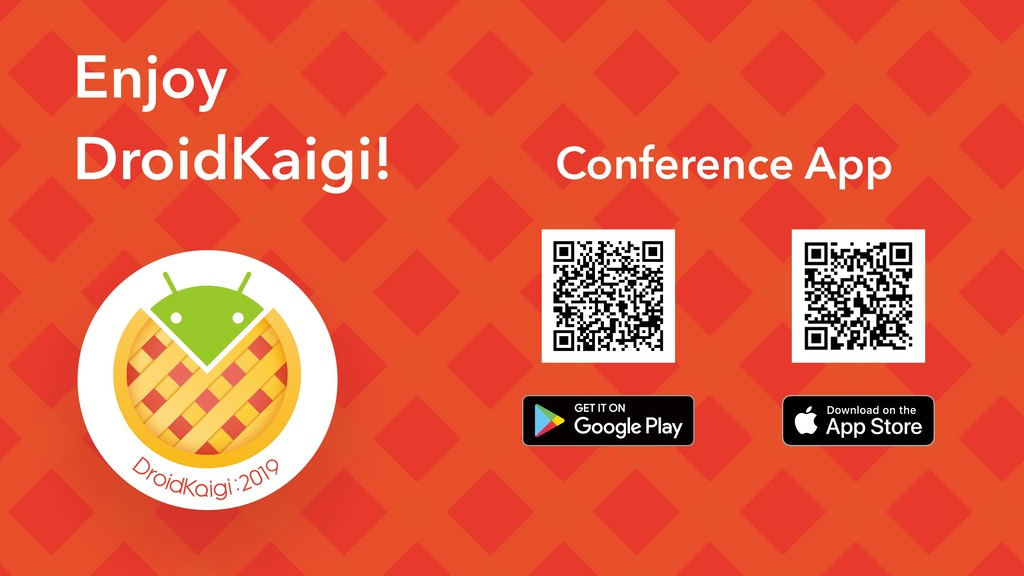 Enjoy DroidKaigi! Conference App