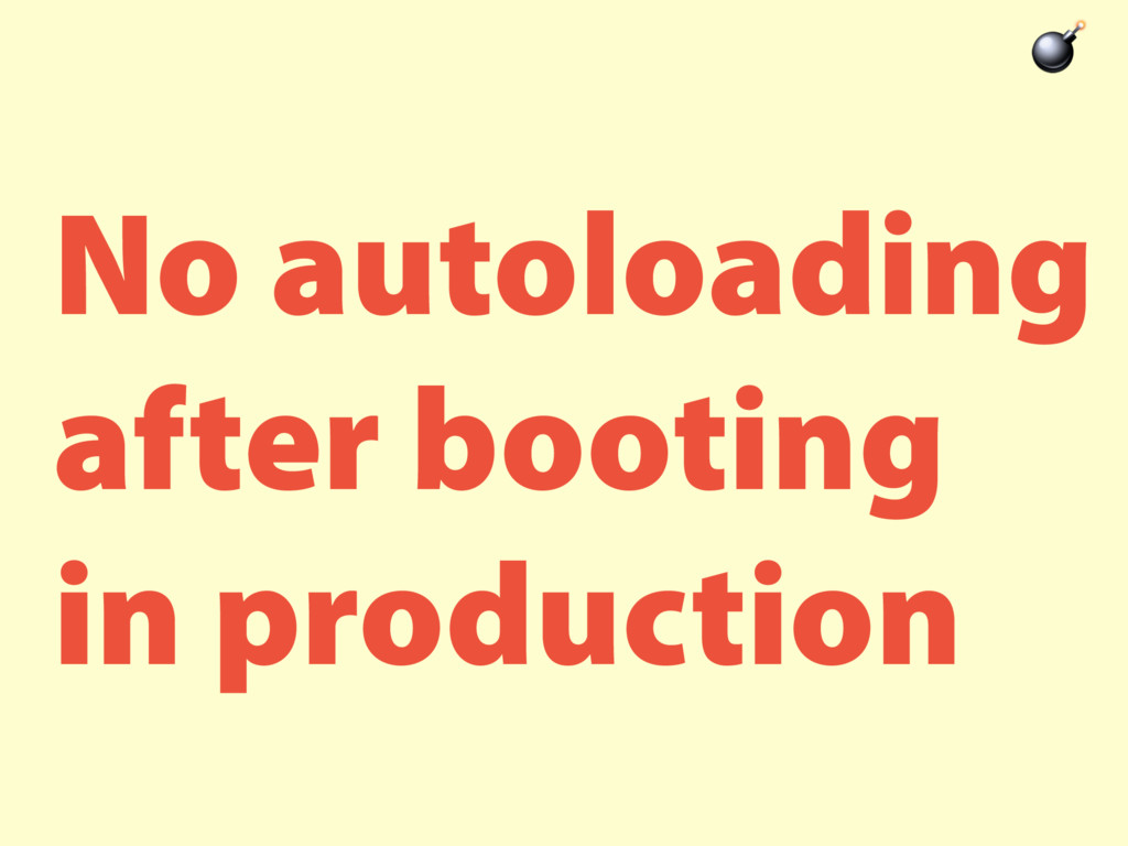 No autoloading after booting in production