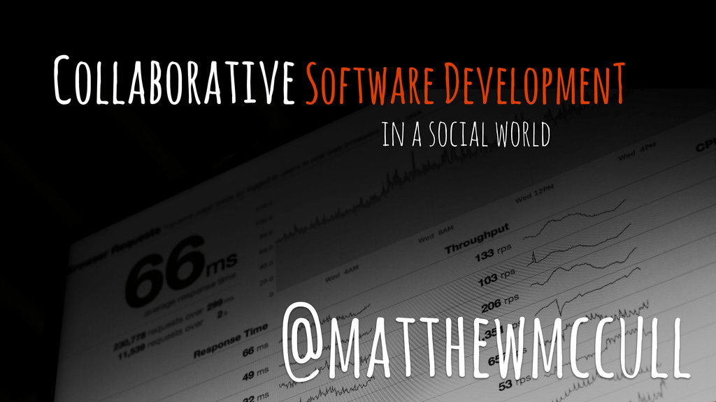 Collaborative Software DevelopmenT in a social ...
