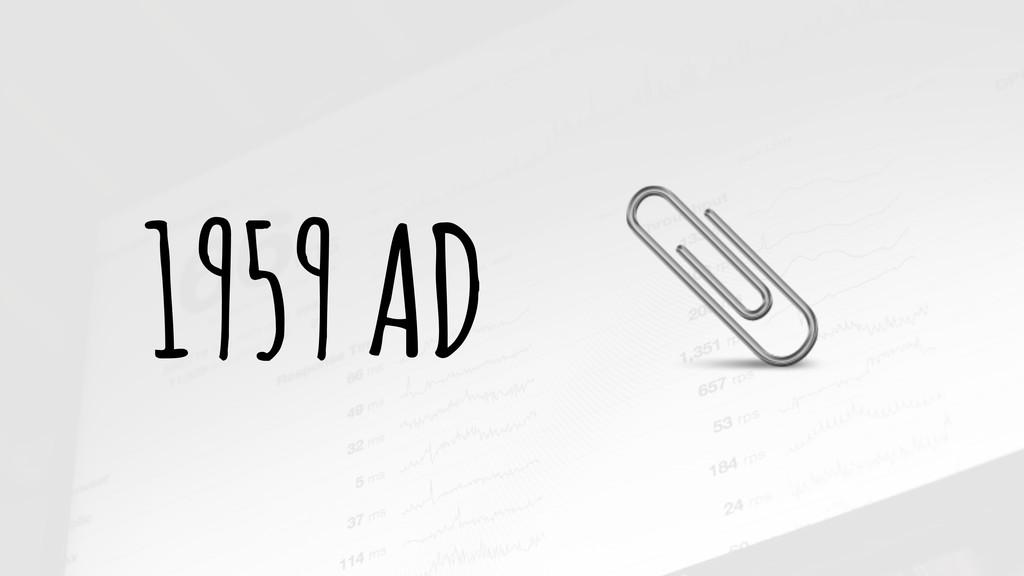 1959 AD (