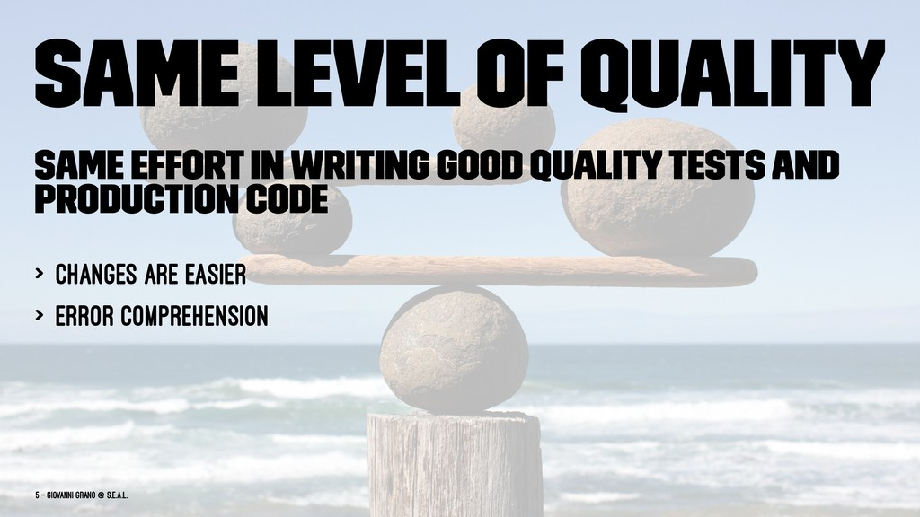Same level of quality Same effort in writing go...