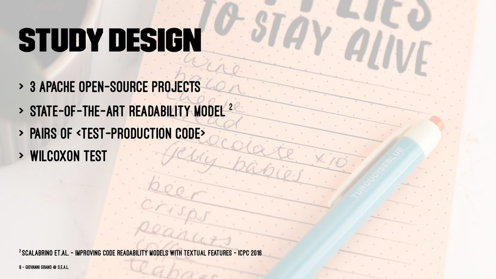 Study Design > 3 Apache open-source projects > ...