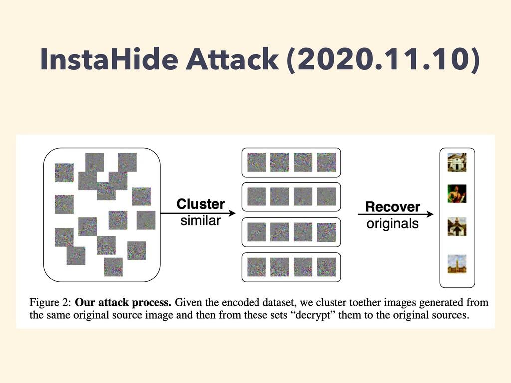 InstaHide Attack (2020.11.10)