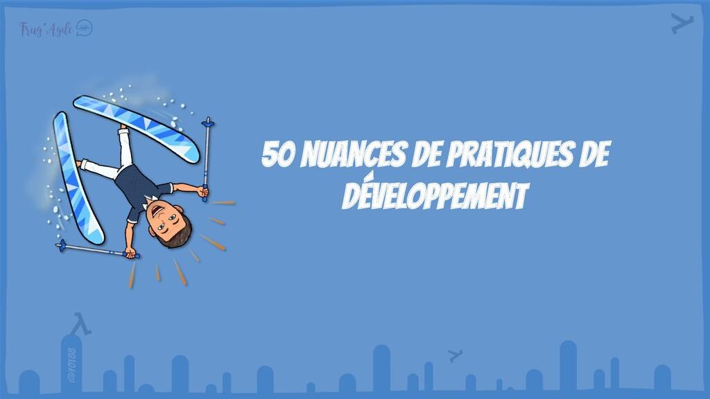 @yot88 50 nuances de pratiques de développement