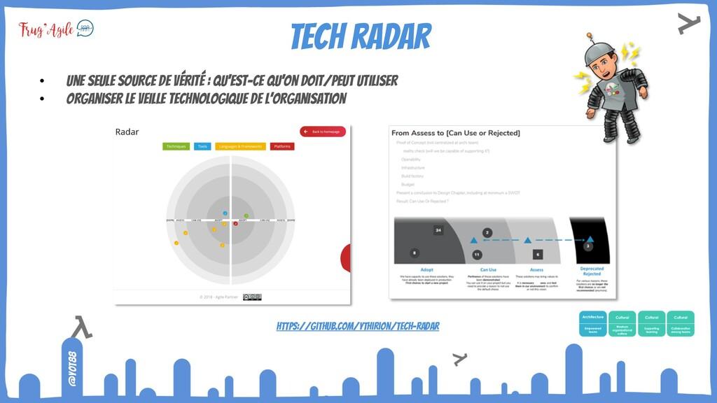 @yot88 Tech radar • Une seule source de vérité ...