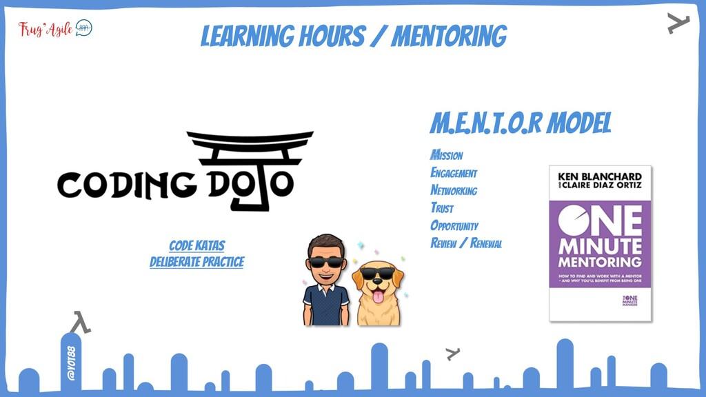 @yot88 Learning hours / mentoring Code katas De...