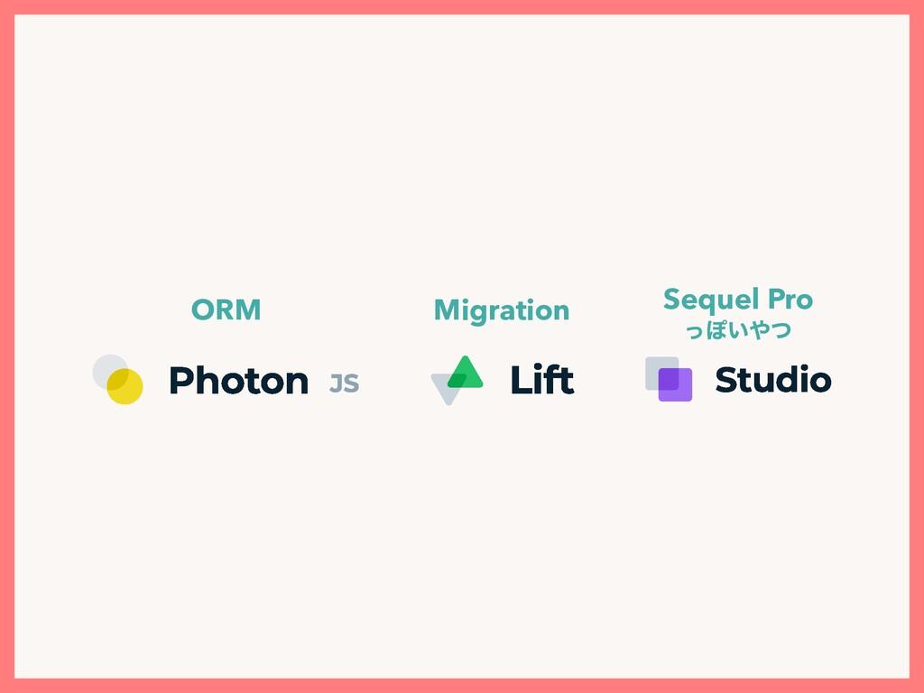 ORM Migration Sequel Pro ͬΆ͍ͭ