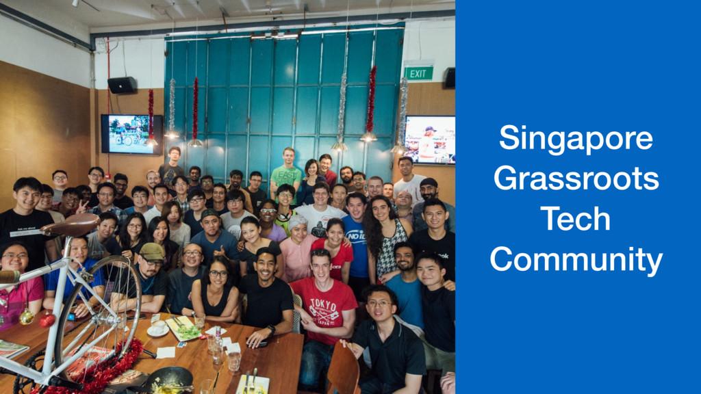 Singapore Grassroots Tech Community