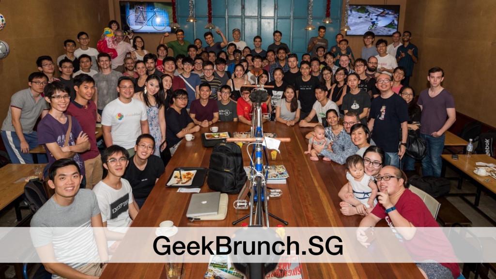 GeekBrunch.SG