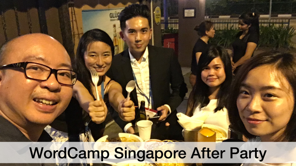 WordCamp Singapore After Party