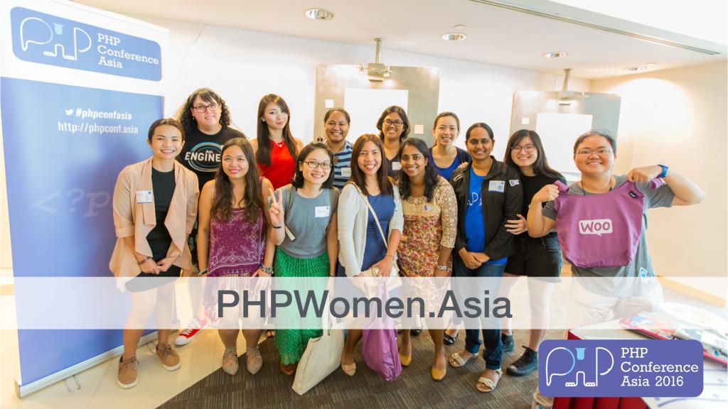 PHPWomen.Asia
