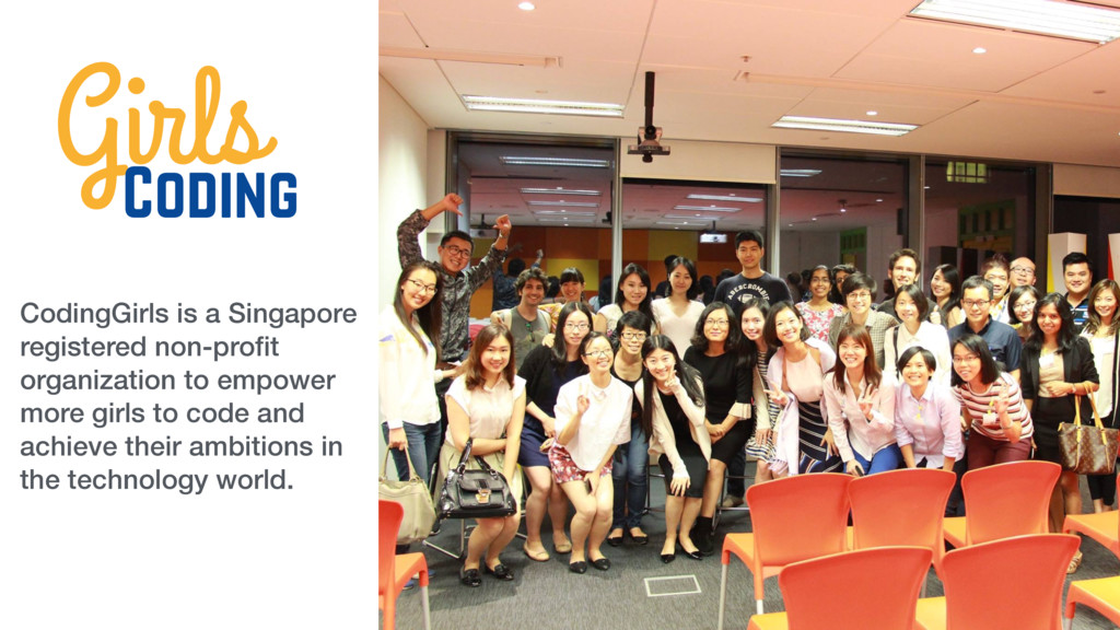 CodingGirls is a Singapore registered non-profit...