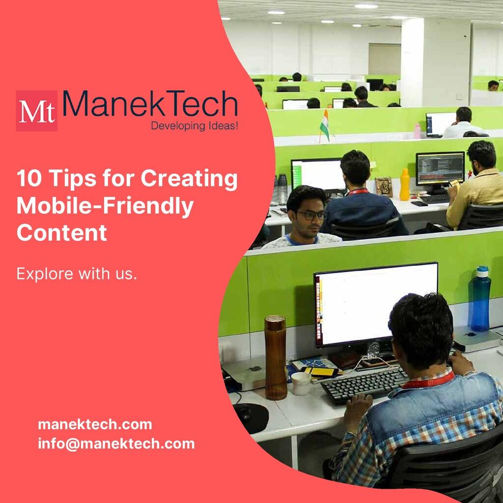 manektech.com info@manektech.com Explore with u...