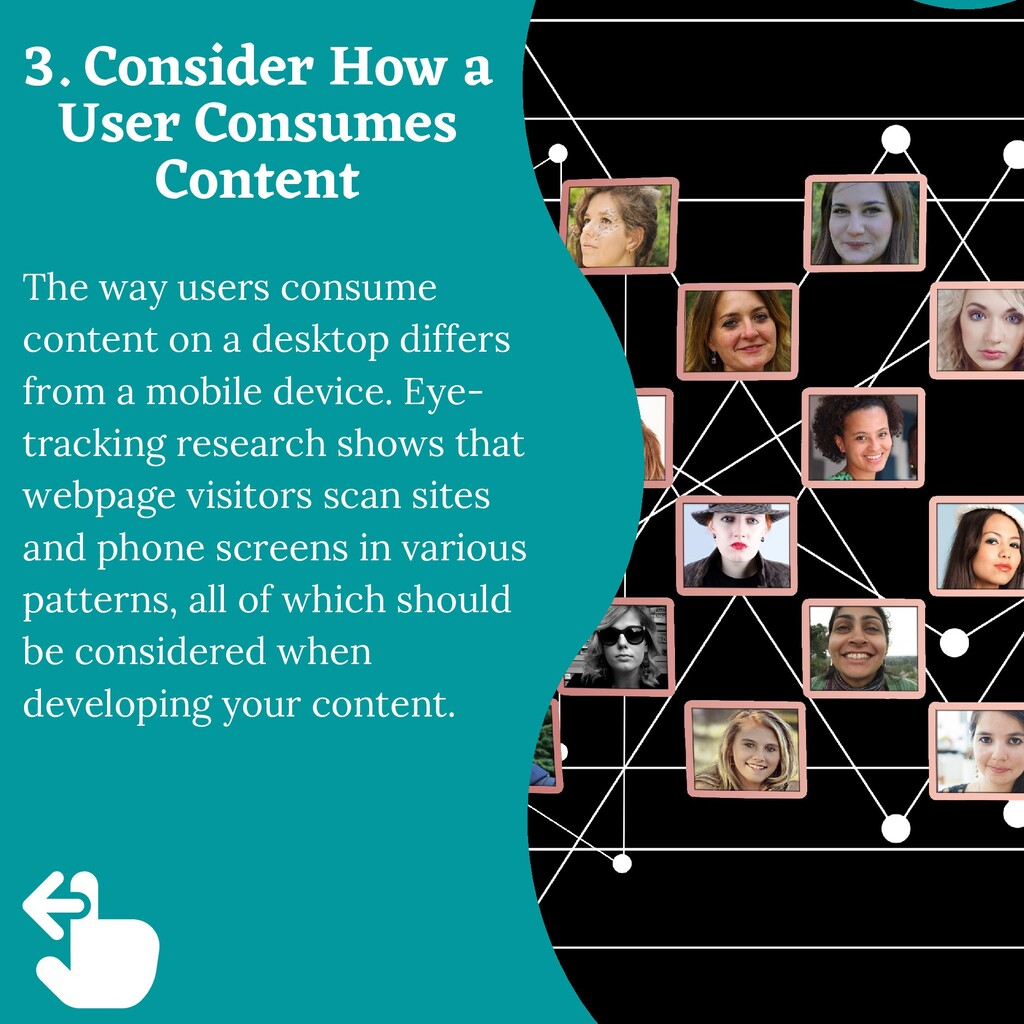 The way users consume content on a desktop diff...