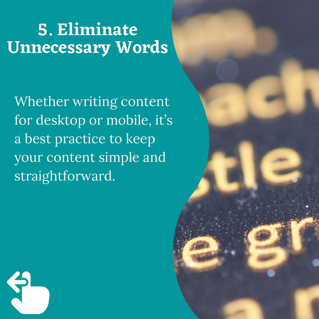 Whether writing content for desktop or mobile, ...