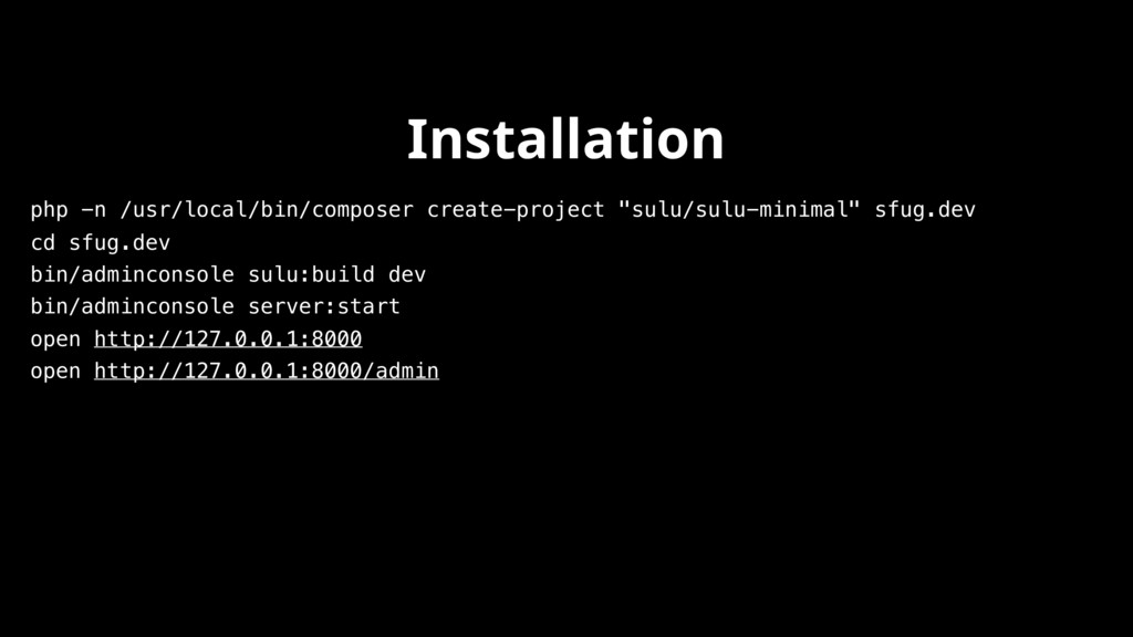 """php -n /usr/local/bin/composer create-project """"..."""
