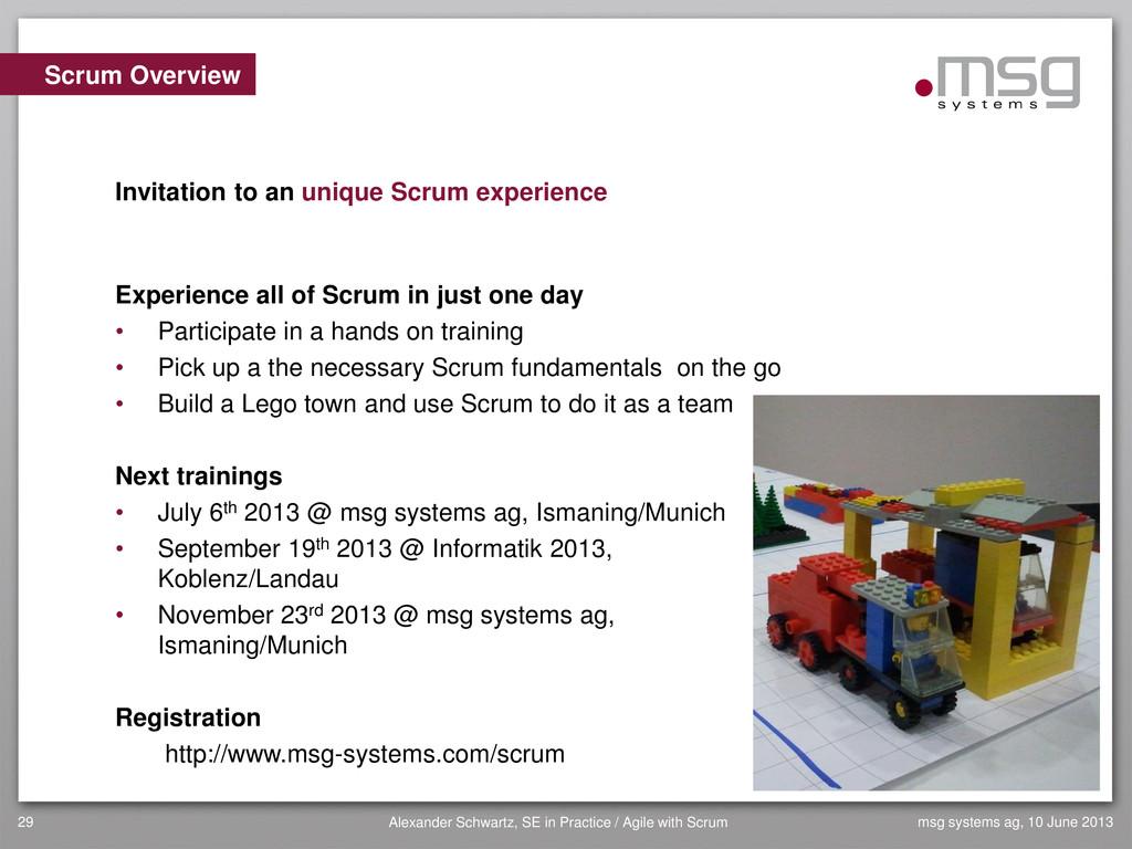 msg systems ag, 10 June 2013 Alexander Schwartz...