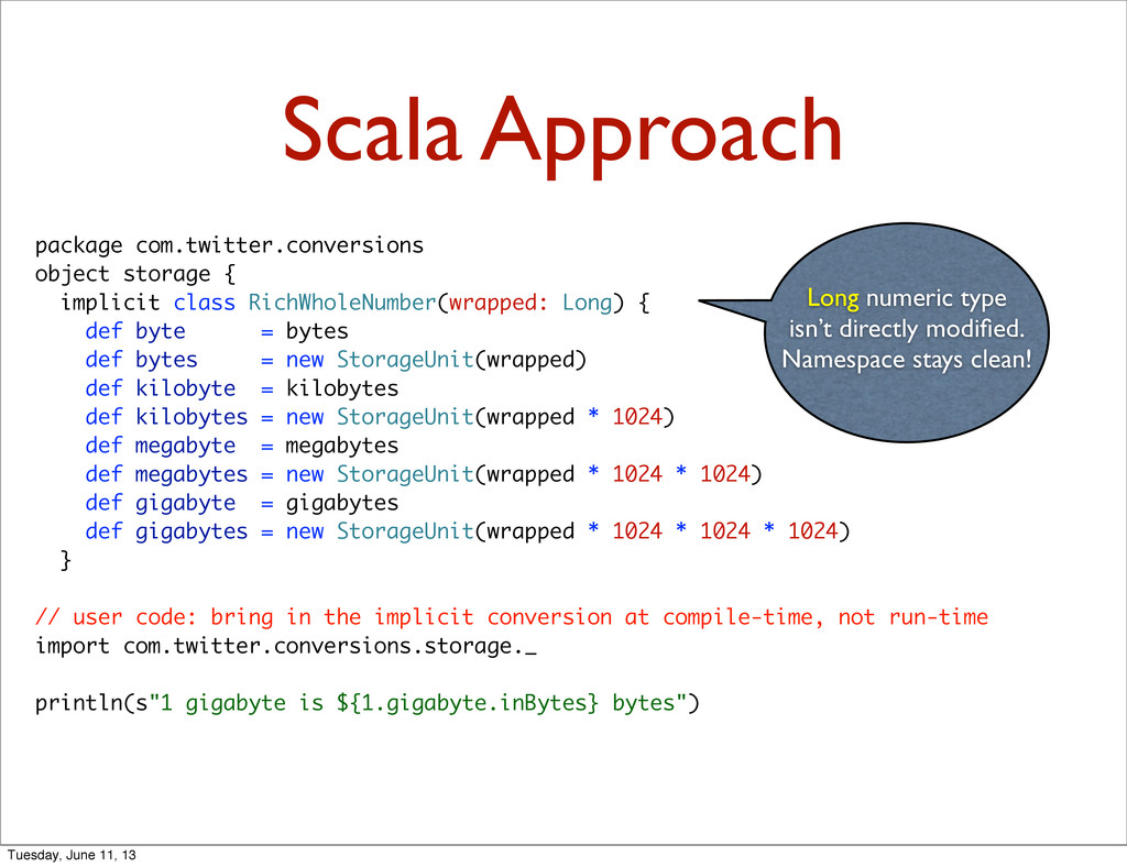 Scala Approach package com.twitter.conversions ...