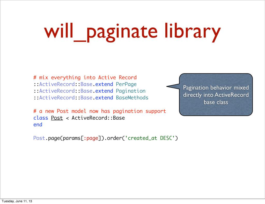 will_paginate library Pagination behavior mixed...