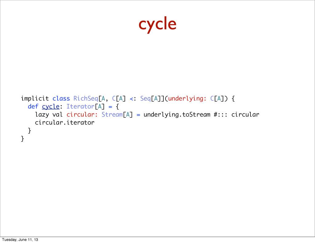 cycle implicit class RichSeq[A, C[A] <: Seq[A]]...