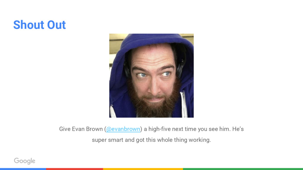 Shout Out Give Evan Brown (@evanbrown) a high-f...