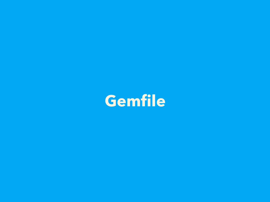 Gemfile