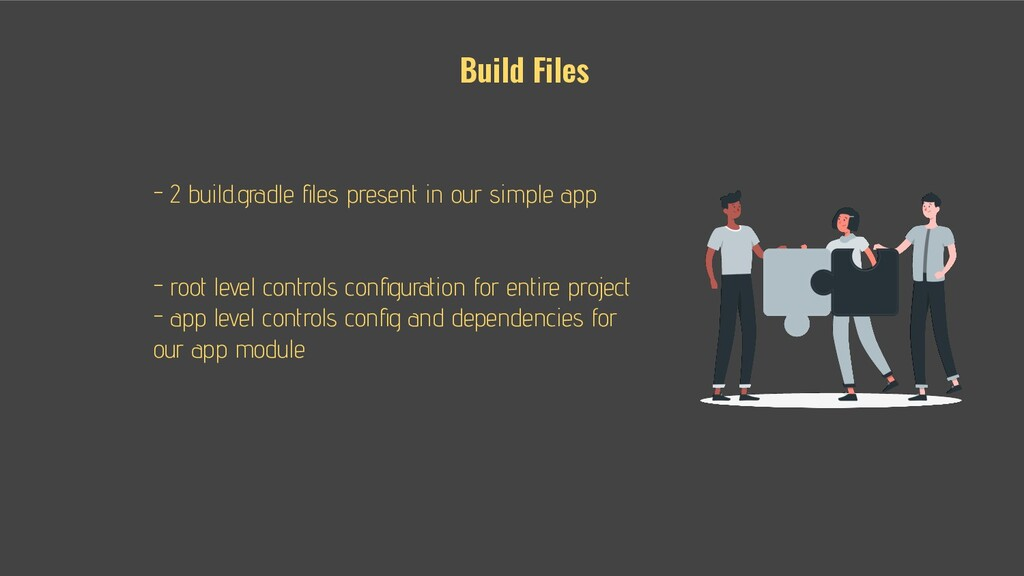 Build Files - - 2 build.gradle files present in ...