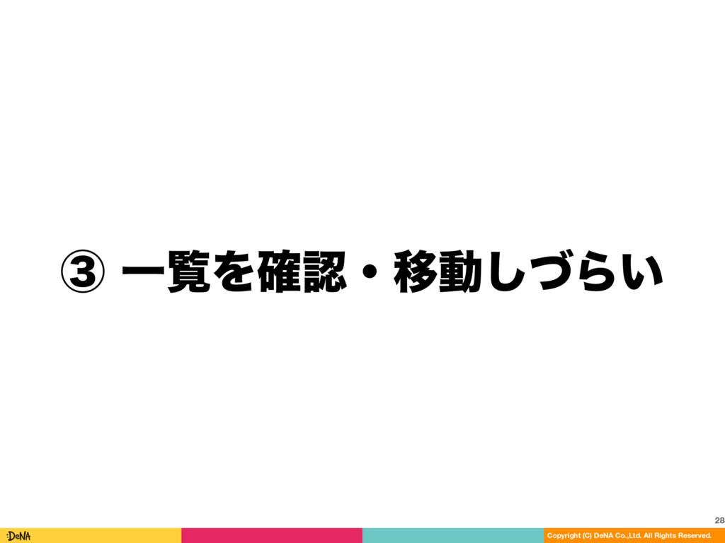 ᶅҰཡΛ֬ɾҠಈͮ͠Β͍ 28 Copyright (C) DeNA Co.,Ltd. A...