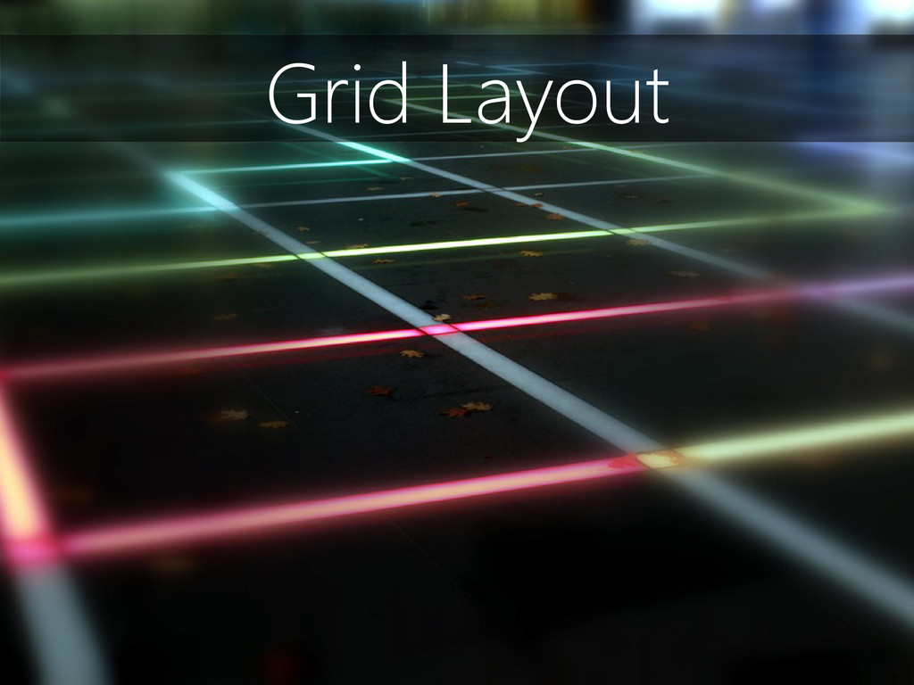 Grid Layout
