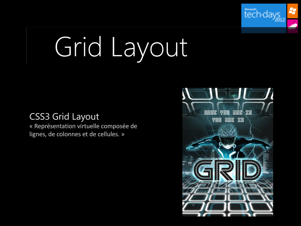 Grid Layout CSS3 Grid Layout « Représentation v...
