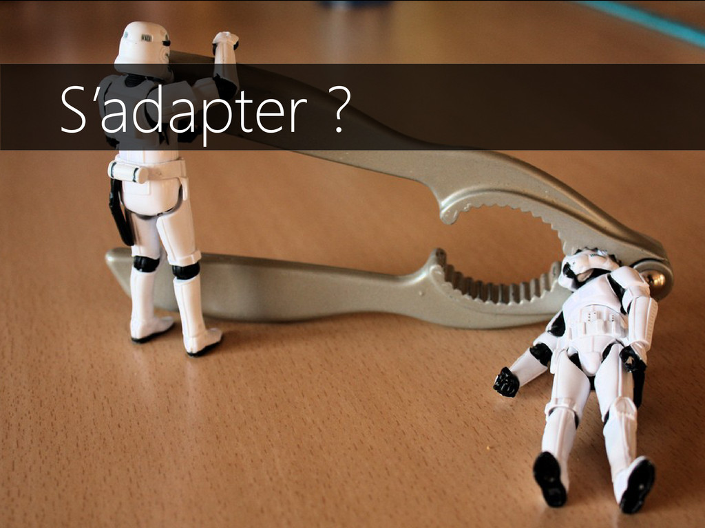 S'adapter ?