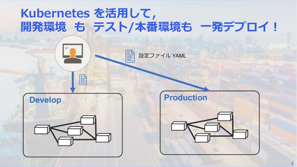 4 / Develop Production  YAML